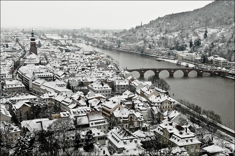 Heidelberg in weiß